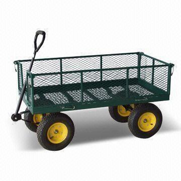 garden carts steel mesh carts