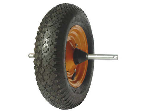 16in Wheelbarrow Air Wheels With Axles Wheelbarrow Wheels
